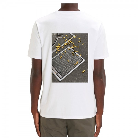 Tee Shirt Nozbone Dépôt Sauvage French Fires White