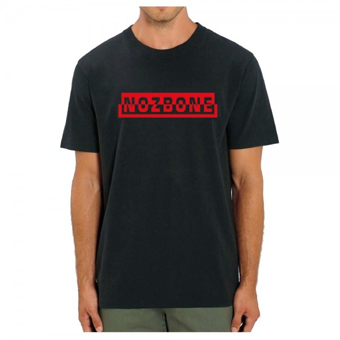 Tee Shirt Nozbone Mirror Logo Black