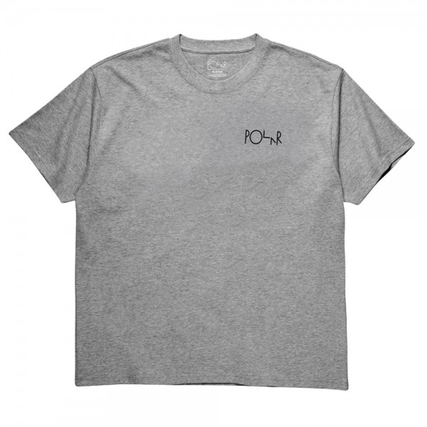 Tee Shirt Polar Fill Logo Heather Grey