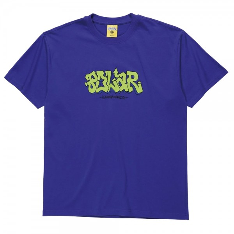 Tee Shirt Polar X Iggy Graf Blueish Purple