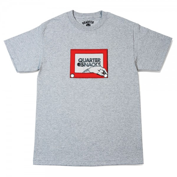 Tee Shirt Quartersnack Sketch Grey