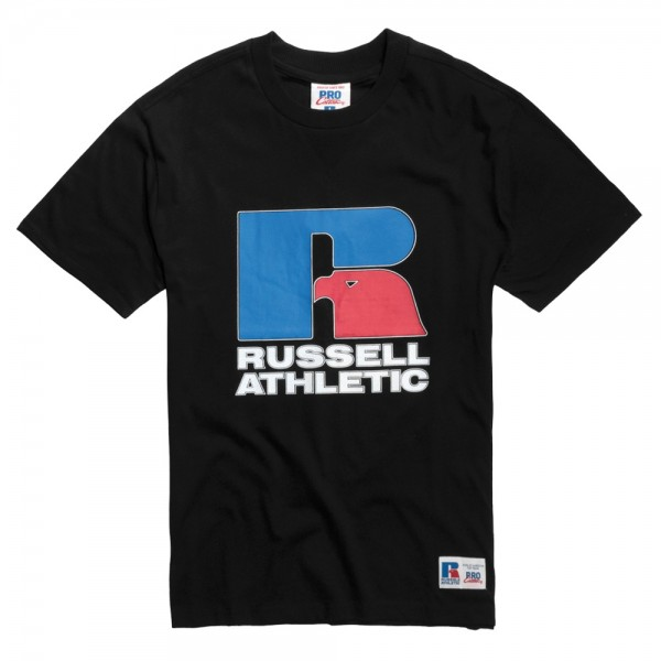 Tee Shirt Russell Athletic Garrett Eagle Black