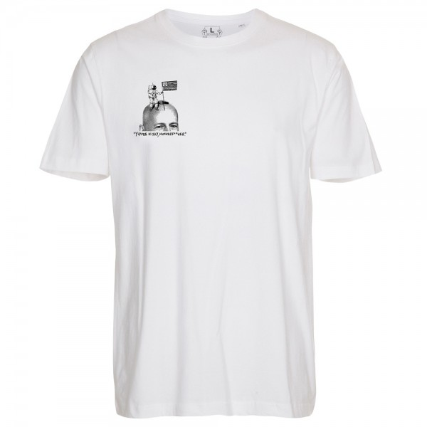 Tee Shirt Unemployed Bruce Tee White