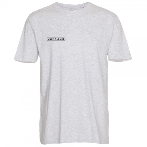 Tee Shirt Unemployed Infinite Web Ash