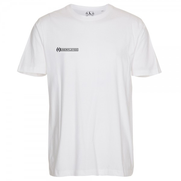 Tee Shirt Unemployed Meet Your Manager White