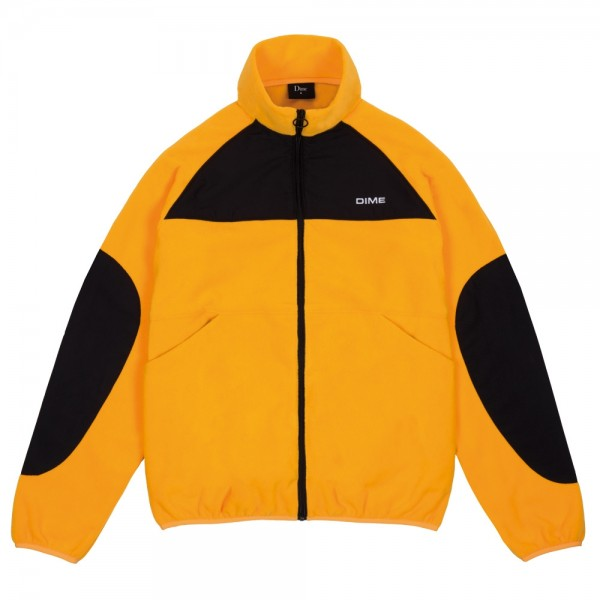 Veste Polaire Dime Polar Fleece Track Jacket Gold Black
