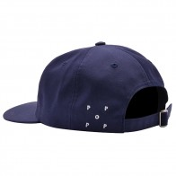 Casquette Pop Trading Company Arch Logo 6 panel Hat Navy