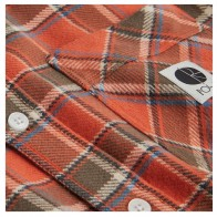 Chemise Polar Flannel Shirt Orange