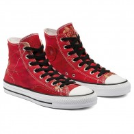 Converse CTAS Pro Hi Real Tree University Red Black White