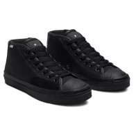Converse Jack Purcell Pro Mid Black Enamel Red