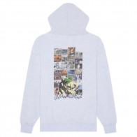 Sweat Capuche Fucking Awesome Frogman 2 Hoodie Heather Grey