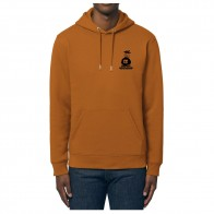 Sweat Capuche Nozbone Dépôt Sauvage Logo Roasted Orange