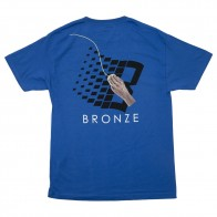 Tee Shirt Bronze Mousepad Tee Royal