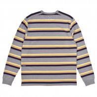 Tee Shirt Manches Longues Pop Trading Company Striped Longsleeve