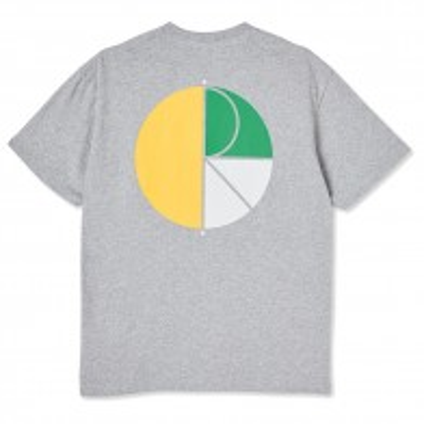 Tee Shirt Polar 3 Tone Fill Logo Tee Sport Grey