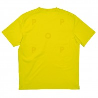 Tee Shirt Pop Trading Company Logo Tee Shirt Electric Yellow