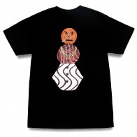 Tee Shirt Quartersnacks Classic Snackman Tee Black
