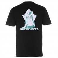 Tee Shirt Unemployed Ghostdeath Black