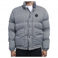 Veste Fucking Awesome World Entertainment Puffer Glen Plaid