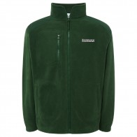 Veste Polaire Nozbone Mirror Logo Polar Fleece Bottle Green
