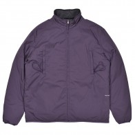 Veste Pop Trading Company Plada Reversible Jacket Dark Purple Anthracite
