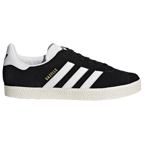 Adidas Gazelle Kids Core Black Footwear White Gold Metallic