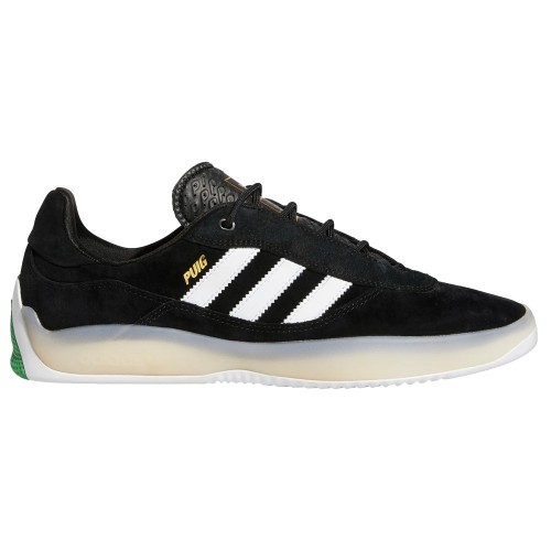 Adidas Lucas Puig Core Black Footwear White Vivid Green