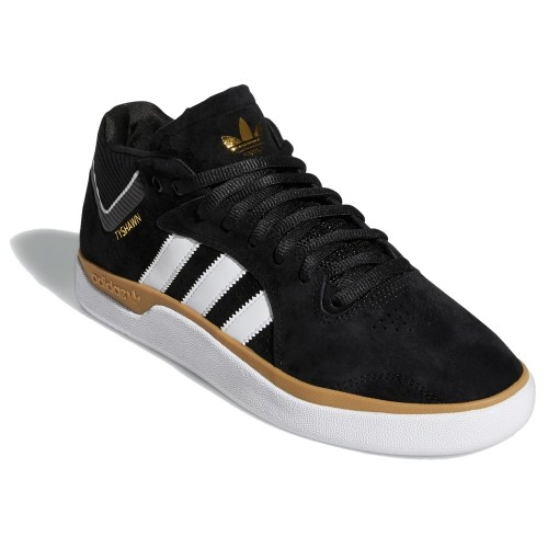 Adidas Tyshawn Core Black White Gum