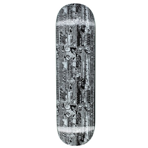 Board Fucking Awesome Acupuncture Black White