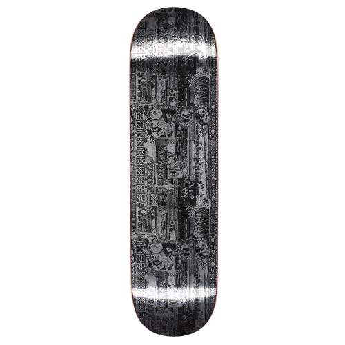 Board Fucking Awesome Acupuncture Silver Foil