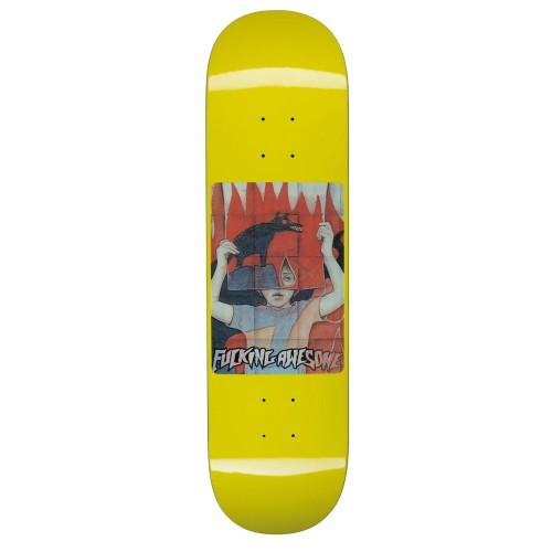 Board Fucking Awesome Tiger Holographic Yellow