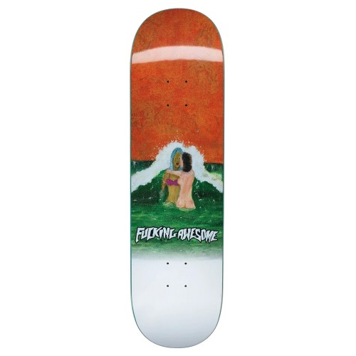 Board Fucking Awesome Wave Painting Deck