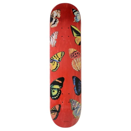 Board Quasi Butterfly Red Stain
