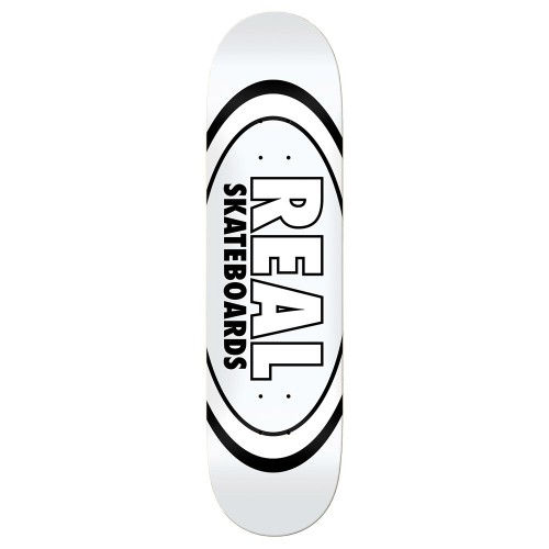 Board Real Team Classic Oval White