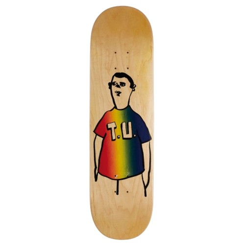 Board Transportation Unit Party Shirt Nude Wood Rainbow