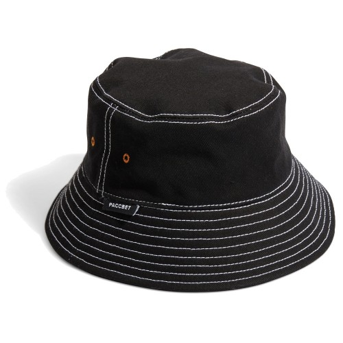 Bob Rassvet Men's Bucket Hat PACC7K004 Black