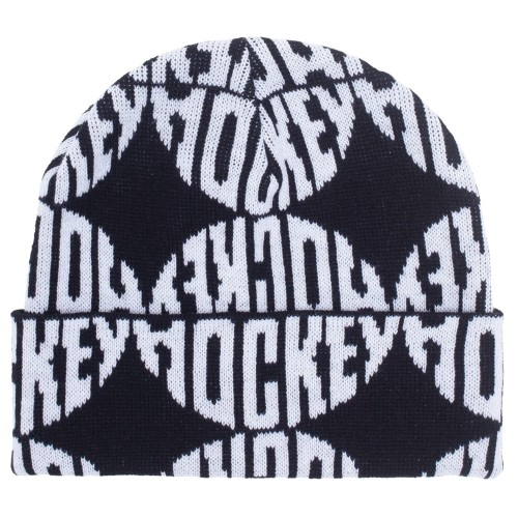 Bonnet Hockey Sewer Beanie Black