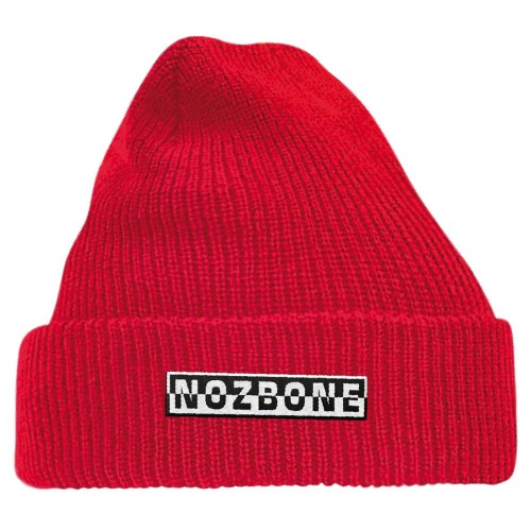 Bonnet Nozbone Mirror Logo Red