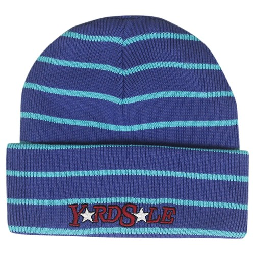 Bonnet Yardsale Magic Stripe Beanie Purple Blue