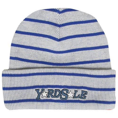 Bonnet Yardsale Magic Stripe Beanie White Blue