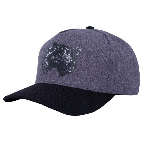 Casquette Fucking Awesome Dogs Snapback Grey Black
