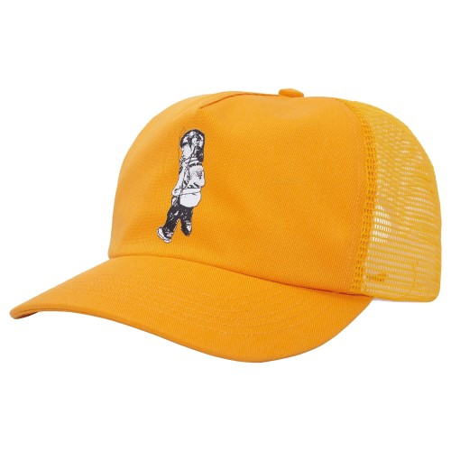 Casquette Fucking Awesome Make It Scream Mesh Snapback Gold