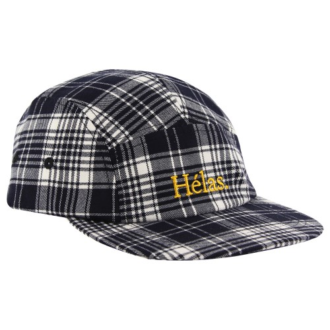 Casquette Helas Checkered Cap Black