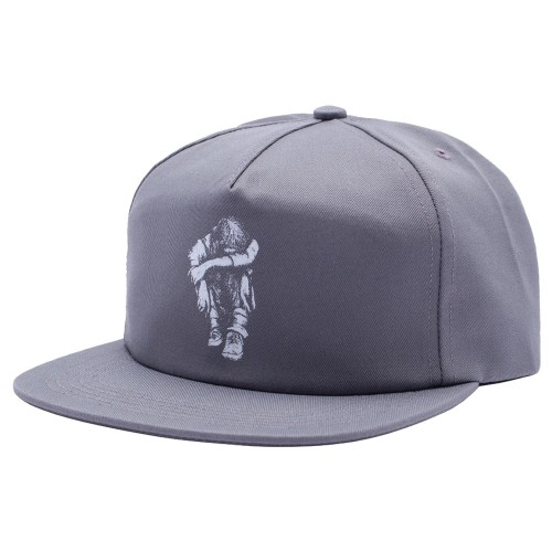 Casquette Hockey Missing Kid 5 Panel Charcoal