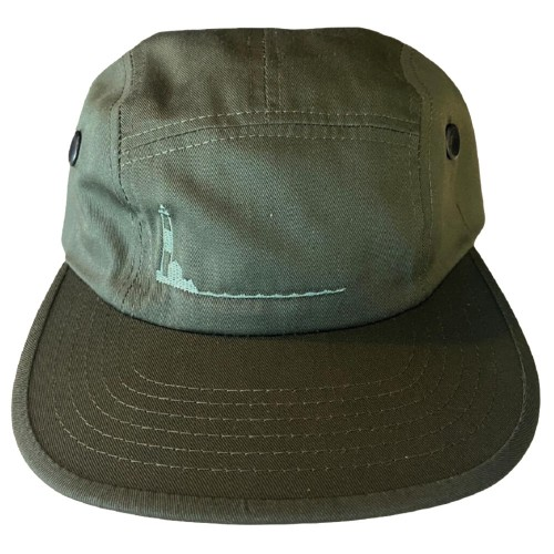 Casquette Poets Turtle Hill Five Panel Cap Army Green
