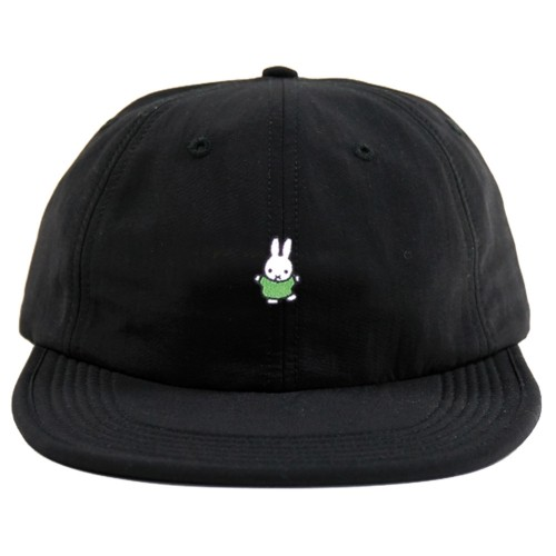 Casquette Pop Trading Company x Miffy Dancing 6 Panel Hat Black