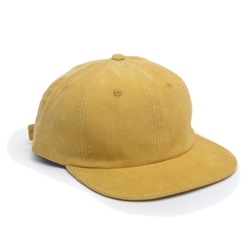 Casquette The Loose Company Cord 6 Panels Yellow