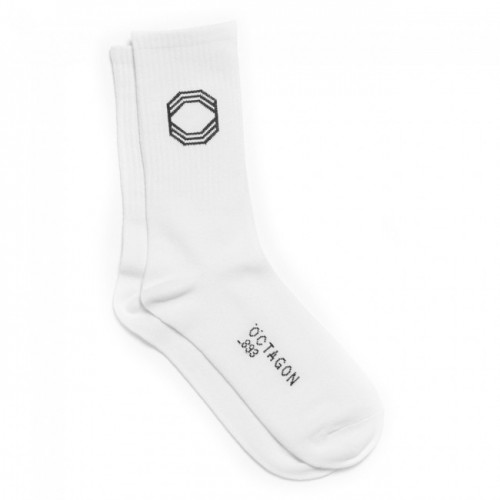 Chaussettes Octagon White