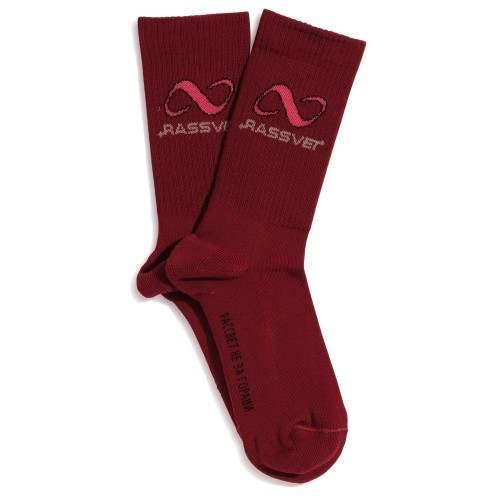 Chaussettes Paccbet PACC8K006 Sport Socks Burgundy
