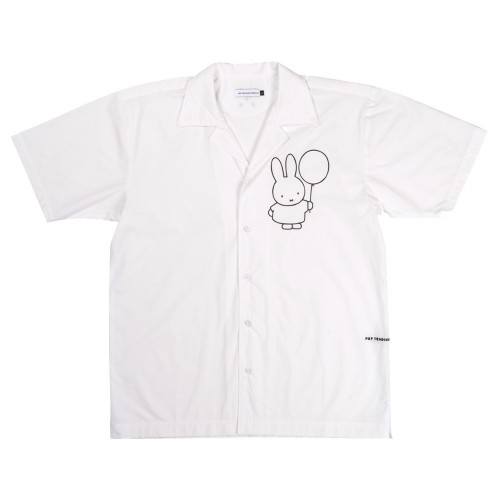 Chemise Pop Trading Company x Miffy Shirt White